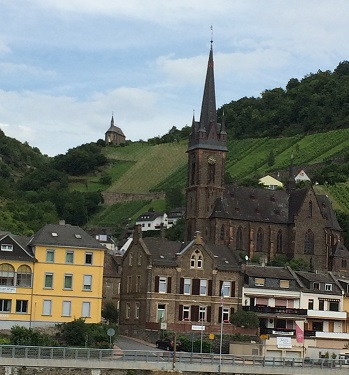 Rhine valley cathedral and chapel